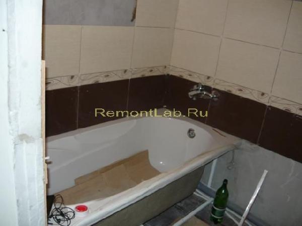 хрущевка ванная ремонт