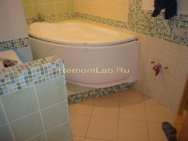 ремонт ванной и туалета фото