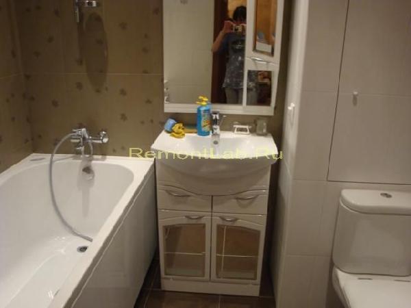 ремонт ванной комнаты пвх