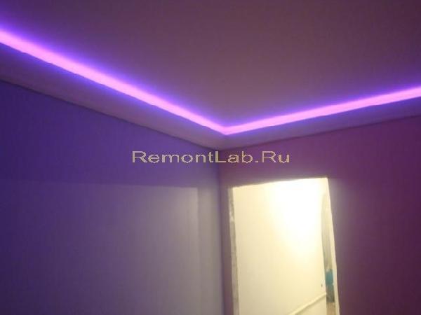ремонт потолка в комнате