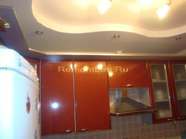 ремонт кухня гостиная фото