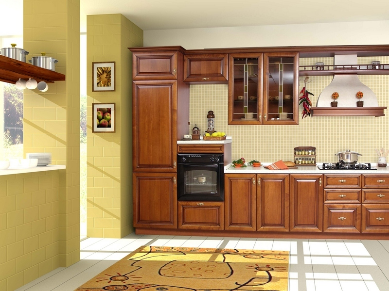 ремонт потолка на кухне
